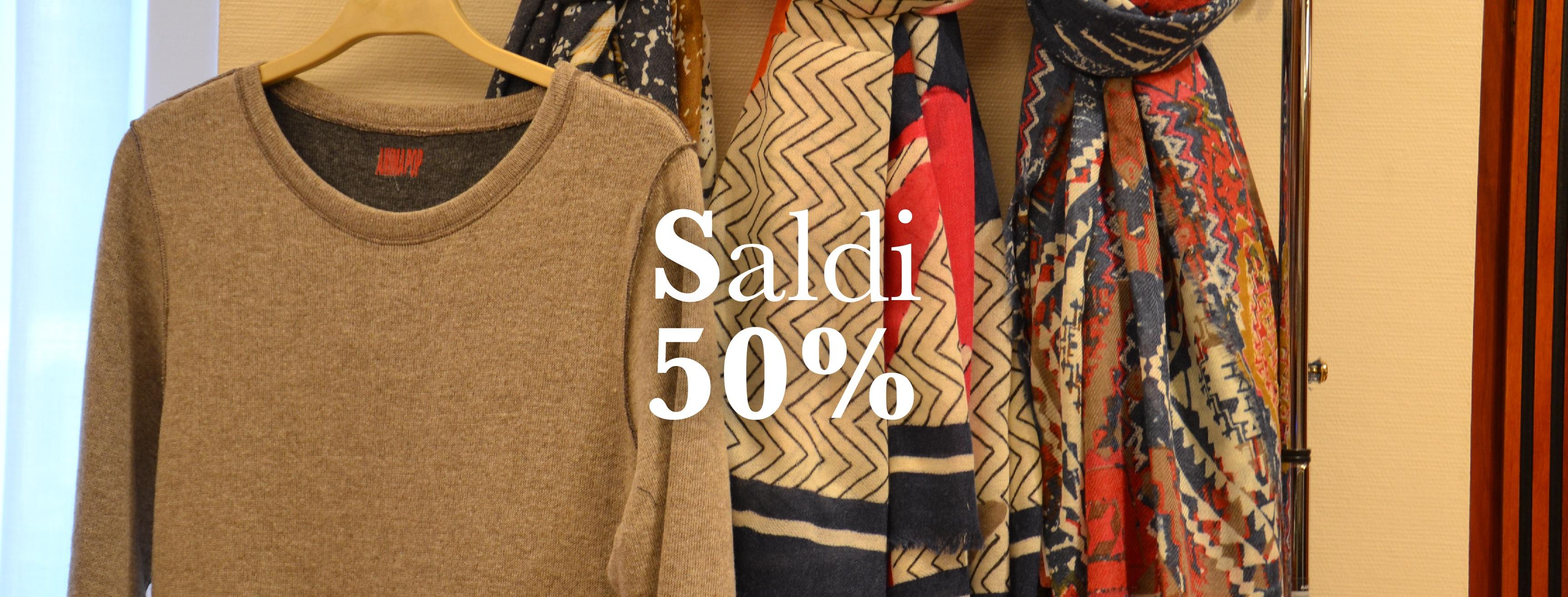 58b36799e4f4 I saldi invernali arrivano al 50% da Sabi Abbigliamento - Sabi Abbigliamento